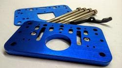 WILLY'S CARB ROLLOVER PLATE- 2 BARREL