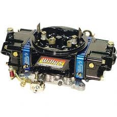 Willys Carbs WCD64251 HP Series Alcohol 4 Barrel Carburetor, 750 Base