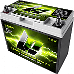 Lithium Pros L545 Lithium Powerpack Batteries with BMS