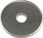 "FIVESTAR STYLE BODY ALUMINUM 3/16"" LARGE HEAD BACK UP WASHERS"