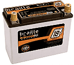 Braille Battery B2618- No-Weight Standard Batteries