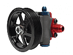 "KRC -Pro Series 9.6CC PRO SERIES PUMP WITH 4.2"" 6-RIB SERPENTINE PULLEY"