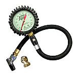 Joes Glow in the Dark Tire Pressure Gauge with Hold Valve