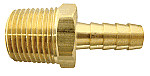 "BRASS COOLER ADAPTER - 1/2"" NPT TO 3/8"" BARB"