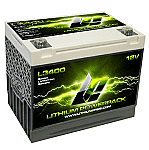 Lithium Pros 12V Lithium Powerpack with BMS