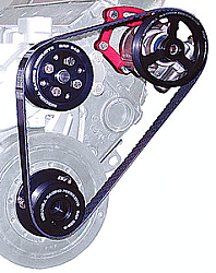 BICKNELL GM Crate 602 Head Mount Serpentine Power Steering Kit 17% Reduction