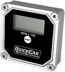 QuickCar QuickTach LCD Recall Tachometers 611-100