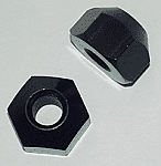 "METRIC 1"" 12 X 1.25 MM LUG NUTS-Aluminum"