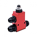 Peterson Remote Relief Valve w -12 AN Oil Fittings -10 AN Relief Line Fitting