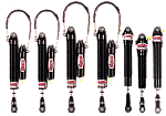 Remote Canister Dirt Late Model Open Motor Integra Shock Speed Pack