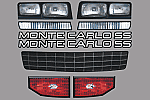 AR BODIES 1981-1988 Chevy Monte Carlo Graphic Kit