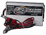 XS Power Batteries 12V High Frequency AGM IntelliCharger, 15A